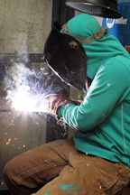 Arc welding image